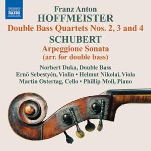 Hoffmeister: Double Bass Quartets Nos. 2, 3 & 4
