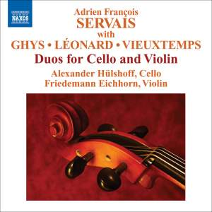 Adrien François Servais: Duos for Cello and Violin Product Image