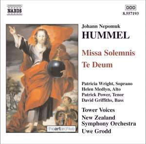 Hummel, J: Missa Solemnis in C major, etc. Product Image