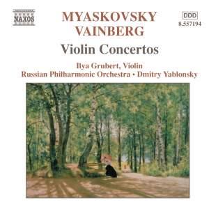 Weinberg & Miaskovsky: Violin Concertos