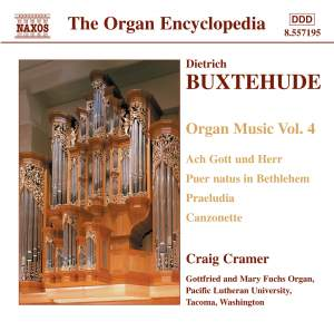 Buxtehude - Organ Music Volume 4 Product Image