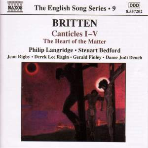The English Song Series Volume 9 - Benjamin Britten 2 Product Image