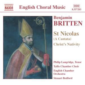 Britten: St Nicolas, Op. 42, etc. Product Image