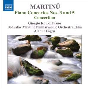 Martinu: Piano Concertos Volume 1