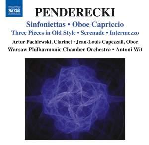 Penderecki: Sinfoniettas & Oboe Capriccio Product Image