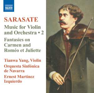 Sarasate: Music for Violin and Orchestra Volume 2 Product Image