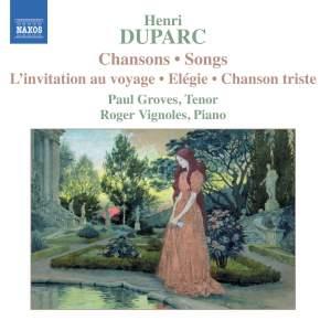 Henri Duparc - Songs