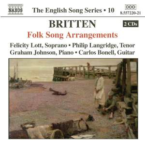 The English Song Series Volume 10 - Britten: Folk Song Arrangements 1