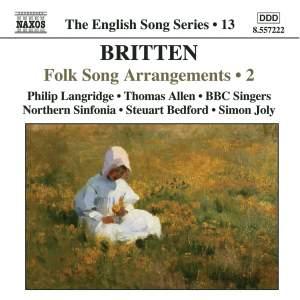The English Song Series Volume 13 - Britten: Folk Song Arrangements 2