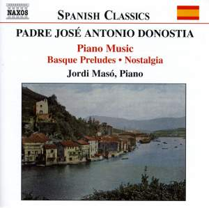 Padre José Antonio Donostia: Piano Music Product Image
