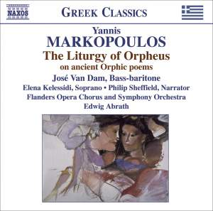 Markopoulos: The Liturgy of Orpheus on the ancient Orphic poems