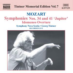 Mozart: Symphonies Nos. 34 and 41 Product Image