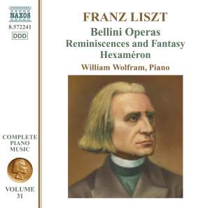 Liszt: Complete Piano Music Volume 31 Product Image