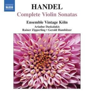 Handel: Complete Violin Sonatas Product Image