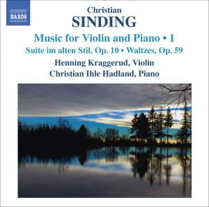 Sinding - Music for Violin and Piano Volume 1