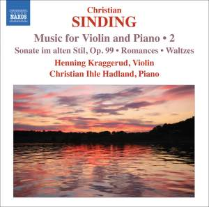 Sinding - Music for Violin and Piano Volume 2