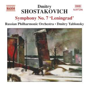 Shostakovich: Symphony No. 7 in C major, Op. 60 'Leningrad' Product Image