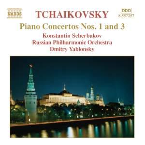 Tchaikovsky - Piano Concertos Nos. 1 & 3 Product Image