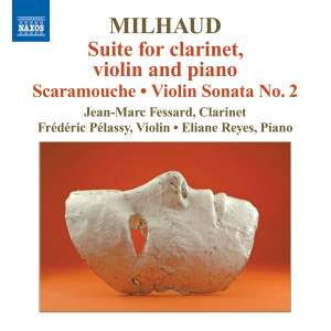 Milhaud: Suite for clarinet, violin and piano