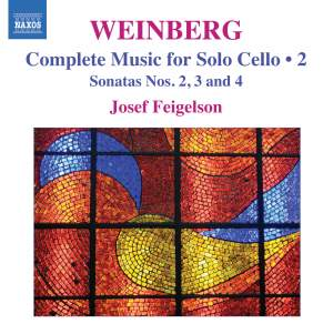Weinberg: Complete Music for Solo Cello Volume 2 Product Image