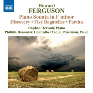 Ferguson - Piano Sonata in F minor Product Image