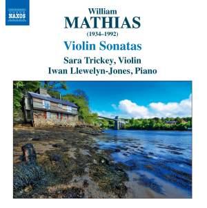 William Mathias: Violin Sonatas