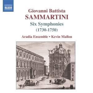Giovanni Battista Sammartini - Six Symphonies Product Image