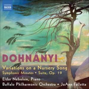 Dohnányi - Variations on a Nursery Song