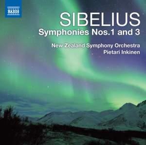 Sibelius: Symphonies Nos. 1 & 3 Product Image