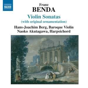 Franz Benda: Violin Sonatas Product Image