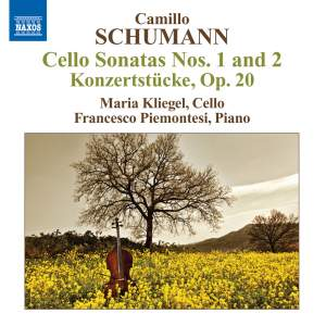 Camillo Schumann: Cello Sonatas Nos. 1 &2 Product Image