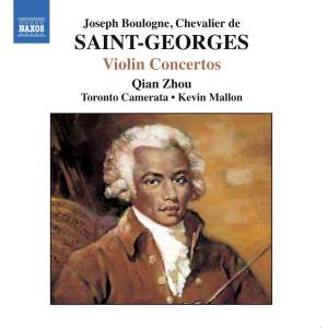 Saint-Georges - Violin Concertos Product Image