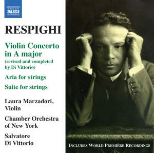 Respighi: Violin Concerto in A major Product Image