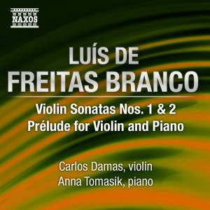 Freitas Branco: Violin Sonatas Nos. 1 & 2 Product Image