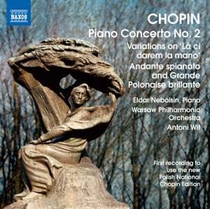 Chopin: Piano Concerto No. 2 Product Image