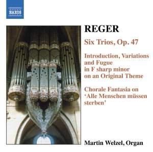 Reger - Organ Works Volume 6