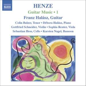Henze: Guitar Music Volume 1