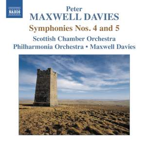 Maxwell Davies: Symphonies Nos. 4 & 5 Product Image