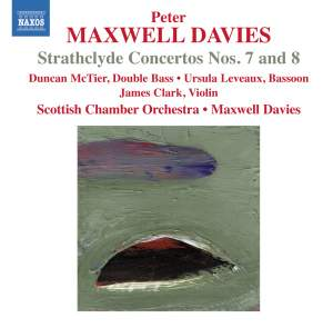 Maxwell Davies: Strathclyde Concertos Nos. 7 and 8 Product Image