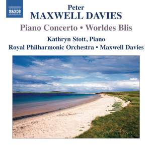 Maxwell Davies: Piano Concerto & Worldes Blis Product Image