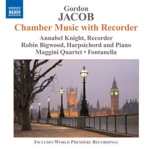 Gordon Jacob: Chamber Music with Recorder Product Image