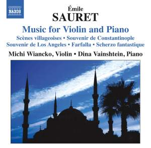Émile Sauret: Music for Violin and Piano