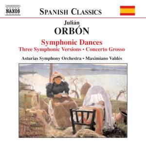 Orbón: Orchestral Works