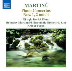 Martinu: Piano Concertos Volume 2 Product Image