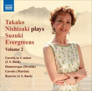 Takako Nishizaki plays Suzuki Evergreens - Volume 2 Product Image