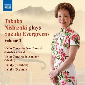 Takako Nishizaki plays Suzuki Evergreens - Volume 3 Product Image