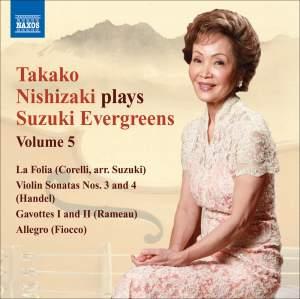 Takako Nishizaki plays Suzuki Evergreens - Volume 5