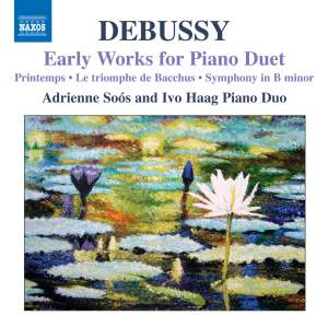 Debussy: Early Works for Piano Duet Product Image