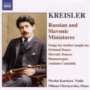 Kreisler - Russian and Slavonic Miniatures Product Image