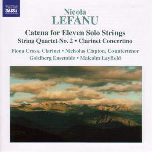 LeFanu: Catena for 11 solo strings, etc. Product Image